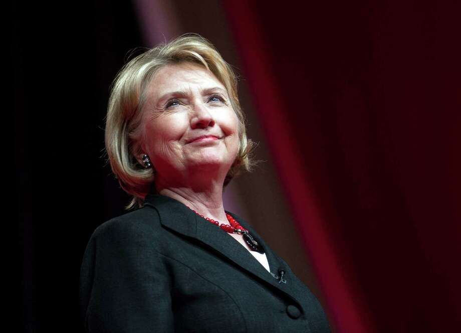 Hillary Clinton's star power has two networks planning TV projects. Photo: Cliff Owen, FRE / FR170079 AP