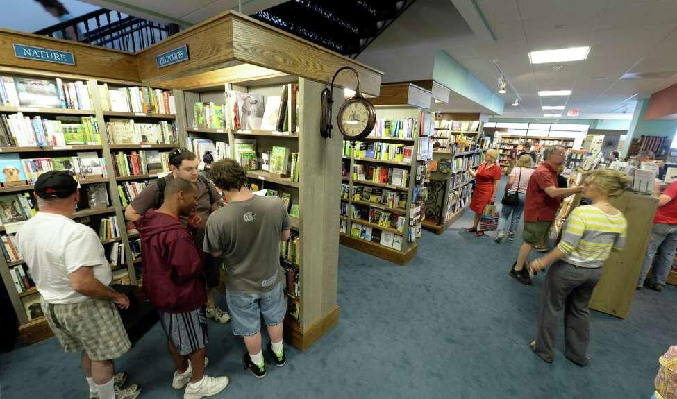 Best bookstore: 2.Northshire Bookstore, Saratoga Springs (Skip Dickstein/Times Union)