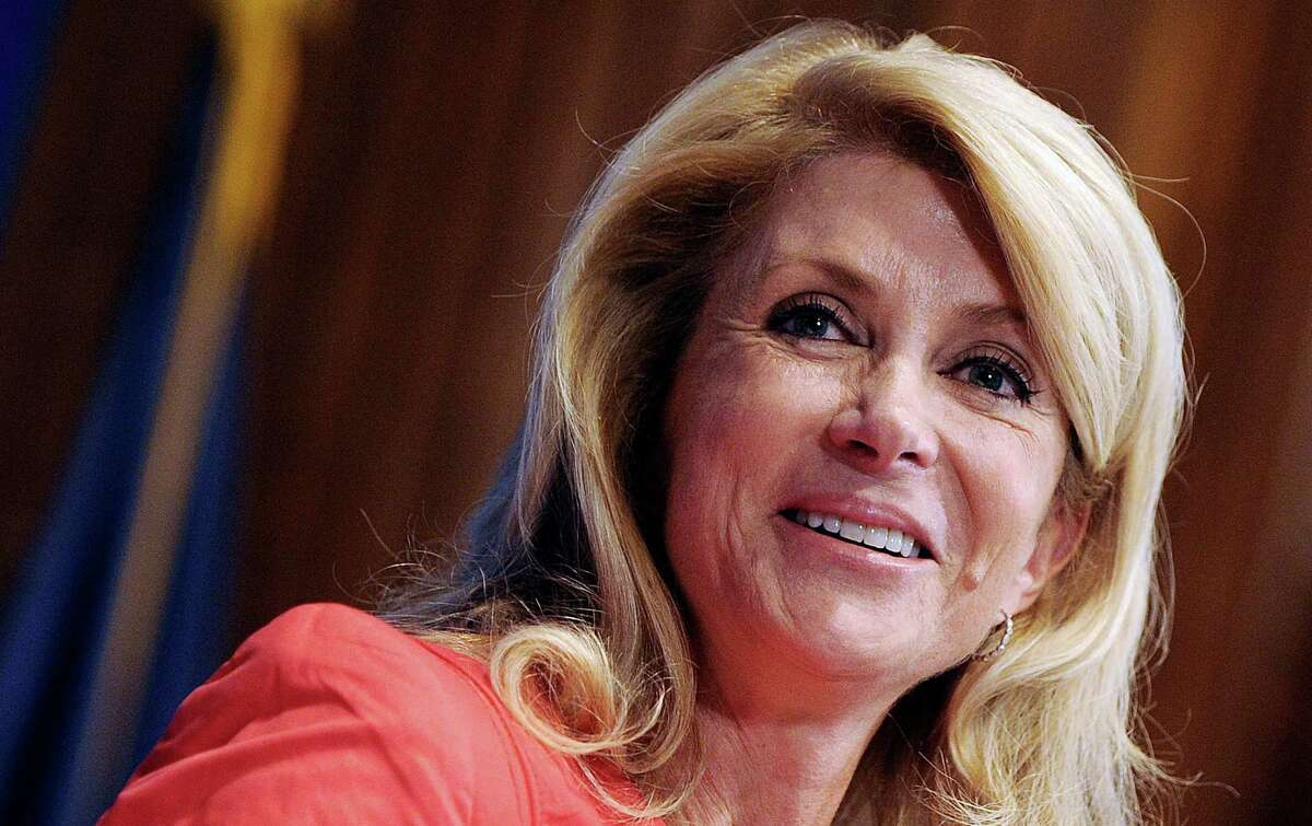 """""""I will run for two offices - either my state Senate seat or the governor,"""" state Sen. Wendy Davis said Monday at the National Press Club luncheon in Washington, D.C."""