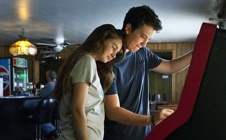 "This publicity image released by A24 Films shows Shailene Woodley, left, and Miles Teller in a scene from ""The Spectacular Now."" (AP Photo/A24 Films) Photo: Associated Press"