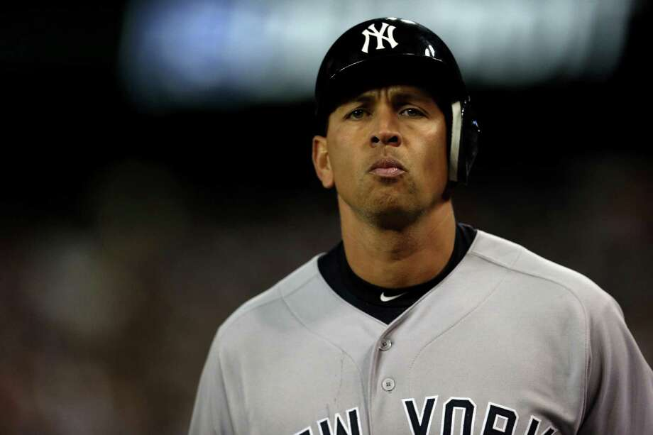 """Alex Rodriguez, who rejoined the Yankees five hours after it was announced he was suspended through 2014, said he will appeal by Thursday. """"The last seven months has been a nightmare,"""" said Rodriguez, who has been out since hip surgery in January. Photo: Jonathan Daniel / Getty Images"""