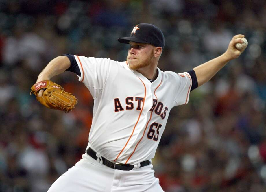 Aug. 5: Astros 2, Red Sox 0Pitcher Brett Oberholtzer threw seven scoreless innings as Houston beat Boston.  Record: 37-74. Photo: Johnny Hanson, Houston Chronicle