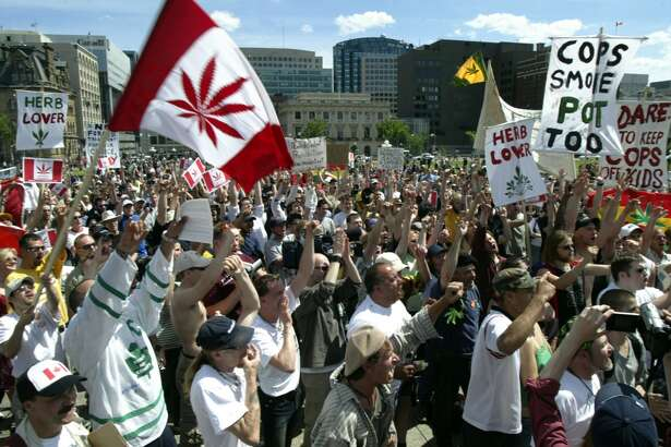 Other countries talking a lot about legalizing marijuana:     Canada  – As  Joel Connelly reported in this blog   Cannabis could light up Canada's next national election campaign.    Prime Minister Stephen Harper has strongly opposed any effort to decriminalize marijuana. Now, opposition Liberal Party Leader Justin Trudeau has made headlines with two British Columbia speeches saying that he wants the forbidden weed legalized, taxed and regulated.    The Liberals have been running ahead of Harper's scandal-hobbled Conservative Party in national polls.    ''I'm actually not in favor of decriminalizing cannabis, I'm in favor of legalizing it,'' Trudeau, a member of parliament from Quebec, told a rally in Kelowna.