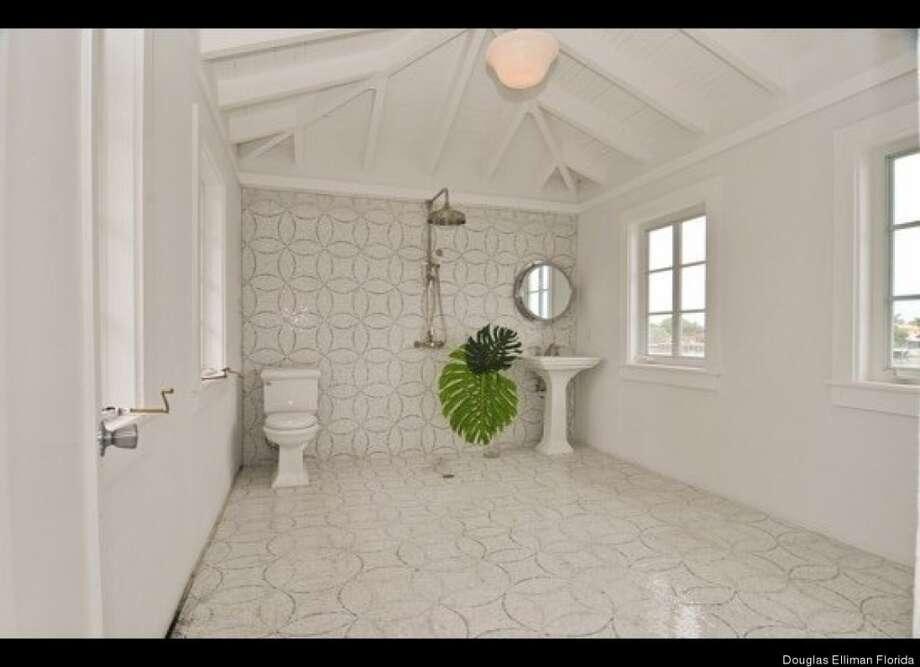 More bath luxury. Douglas Elliman Florida
