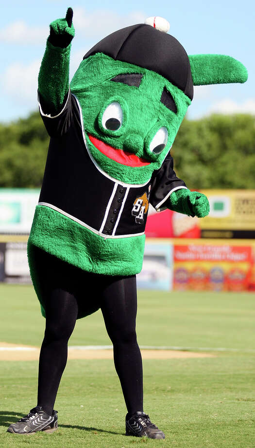 Ballapeno, the official mascot for San Antonio's minor league baseball team, the San Antonio Missions, advanced to the championship round of 2013 Minor League Mascot Mania. Check out our top reasons why you should support Ballapeno to become the top MiLB mascot, and vote for him here. Voting ends Aug. 8! Photo: EDWARD A. ORNELAS, SAN ANTONIO EXPRESS-NEWS / eaornelas@express-news.net