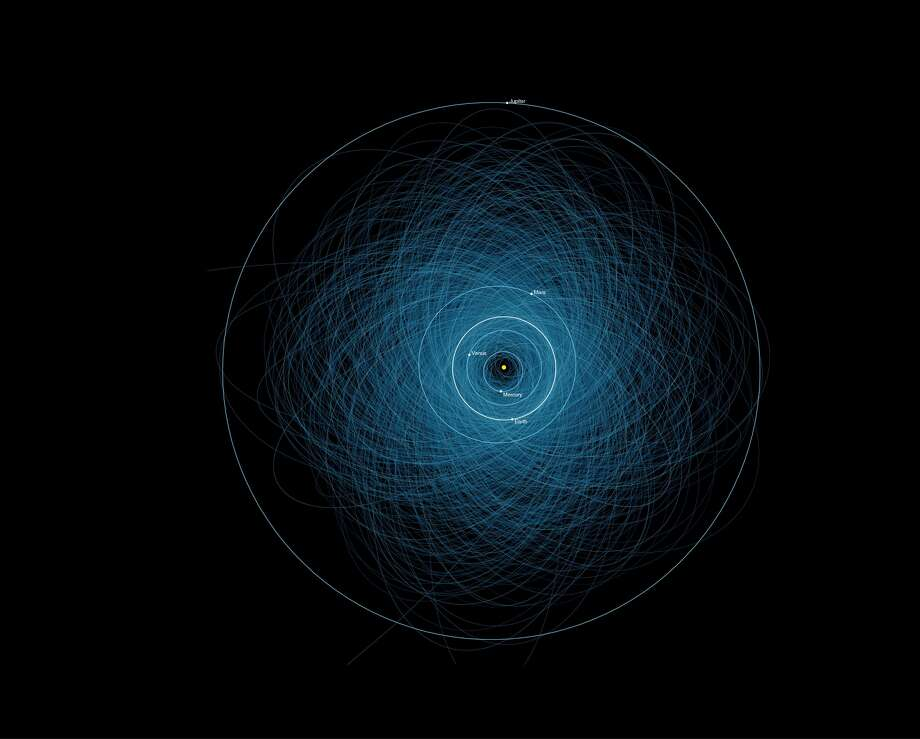 "After all, there are more than 1,400 ""Potentially Hazardous Asteroids"" -- at least 460 feet across and in orbits that pass close to Earth's orbit."