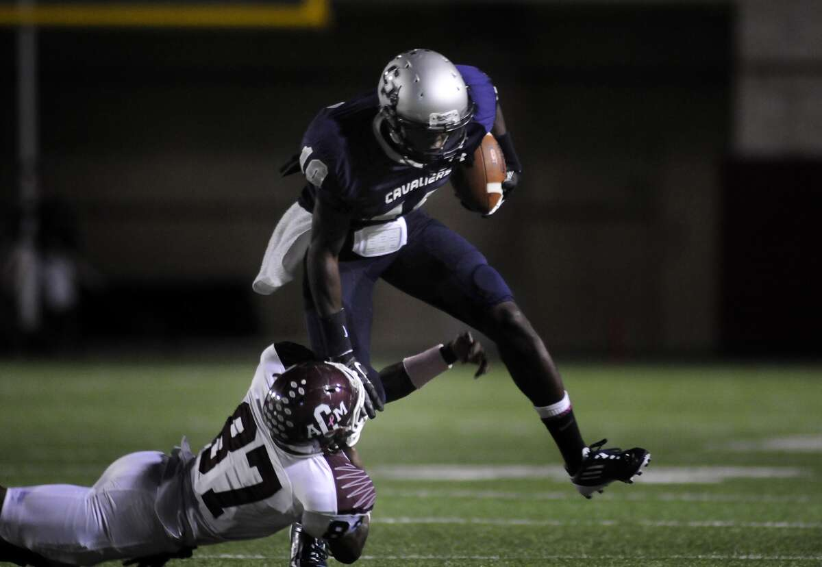 College Park senior Nick Black (16) likely will see time at running back, receiver and quarterback this year.