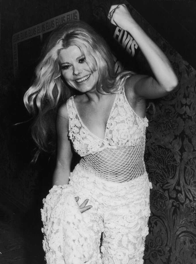 Charo at an Elvis Presley concert in 1973. Photo: Hulton Archive, Getty Images