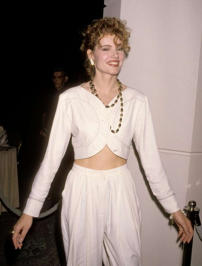 Geena Davis in 1989 Photo: Ron Galella, WireImage