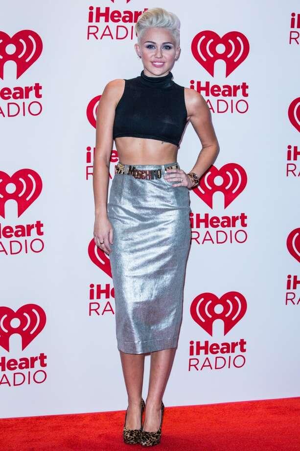 Miley Cyrus in 2012 Photo: Chelsea Lauren, WireImage