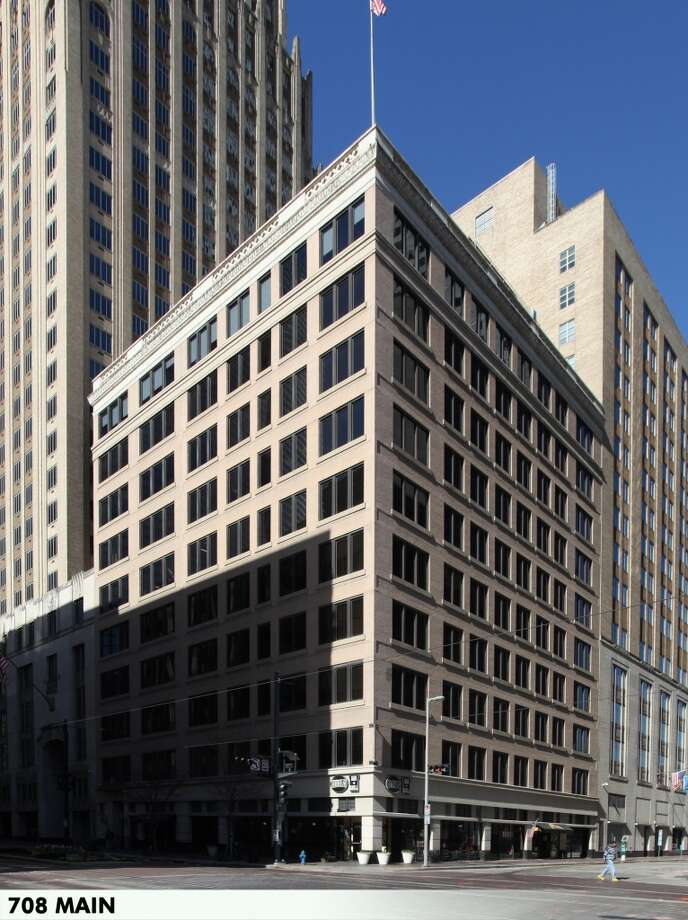 The 10-story Great Jones Building at 708 Main Street totals 78,843 square feet. Photo: CBRE