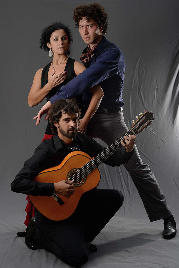 Carina Feal, Gabriel Aragu and Pau Marzal of Company Flamenco Ruta pose stating if they were not at the Edinburgh Fringe Festival they would be looking for more work on August 6, 2013 in Edinburgh, Scotland. The city is in full swing with hundreds of entertainers attending the Edinburgh Fringe Festival which runs from the 2 -26 August and is one of the largest arts festivals in the world, dating back to 1947. Photo: Jeff J Mitchell, Getty Images / 2013 Getty Images