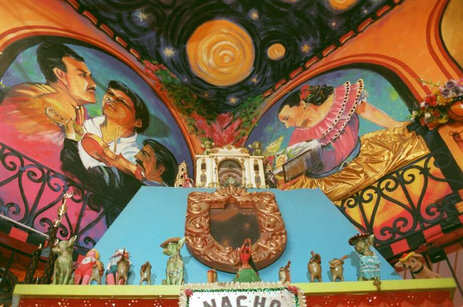 Chuy's is a colorful wonderland, plus you get chips, which are very important to have while waiting for a meal. Photo: Steve Campbell, Houston Chronicle