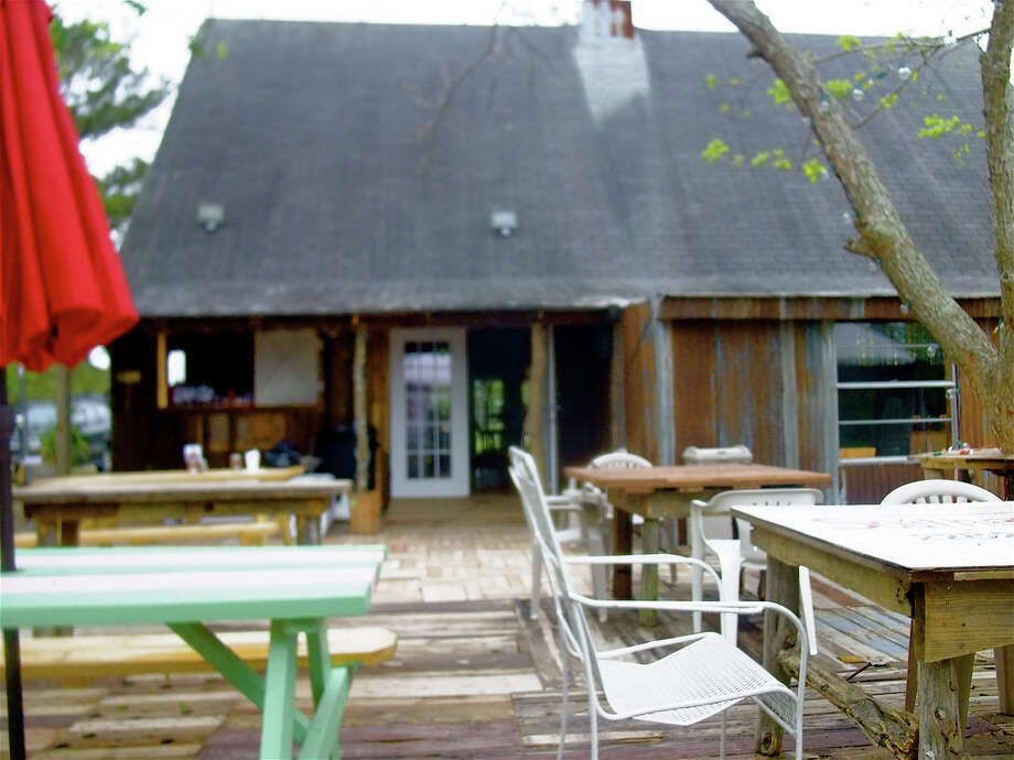 The Shack in Cypress has a great outdoor seating area and kid-friendly food.