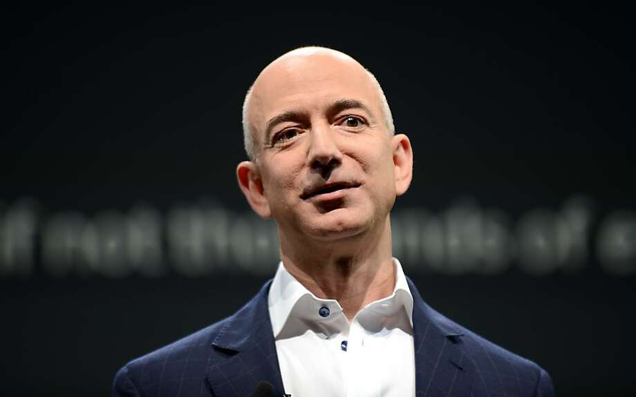 Amazon CEO Jeff Bezos is taking on new challenges with his purchase of the Washington Post. Photo: Joe Klamar, AFP/Getty Images