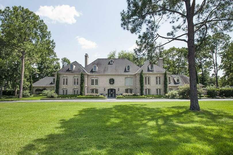 Stately Two Car Garage 92049vs: Stately French Traditional Manor On Prestigious Raintree