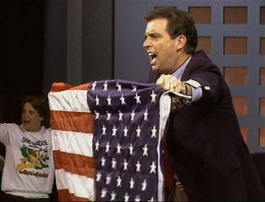 Morton Downey Jr. in A‰VOCATEUR: THE MORTON DOWNEY JR. MOVIE, a Magnolia Pictures release. Photo courtesy of Magnolia Pictures