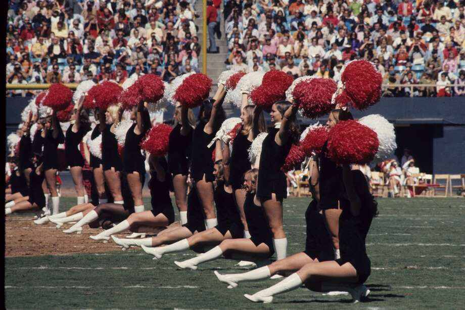 The Atlanta Falcons cheerleaders in 1972 Photo: Bob Verlin, NFL
