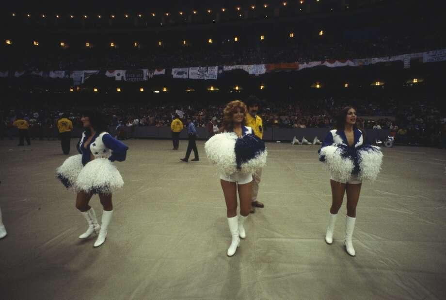 The Cowboys Cheerleaders in 1976. Photo: Focus On Sport, Focus On Sport/Getty Images