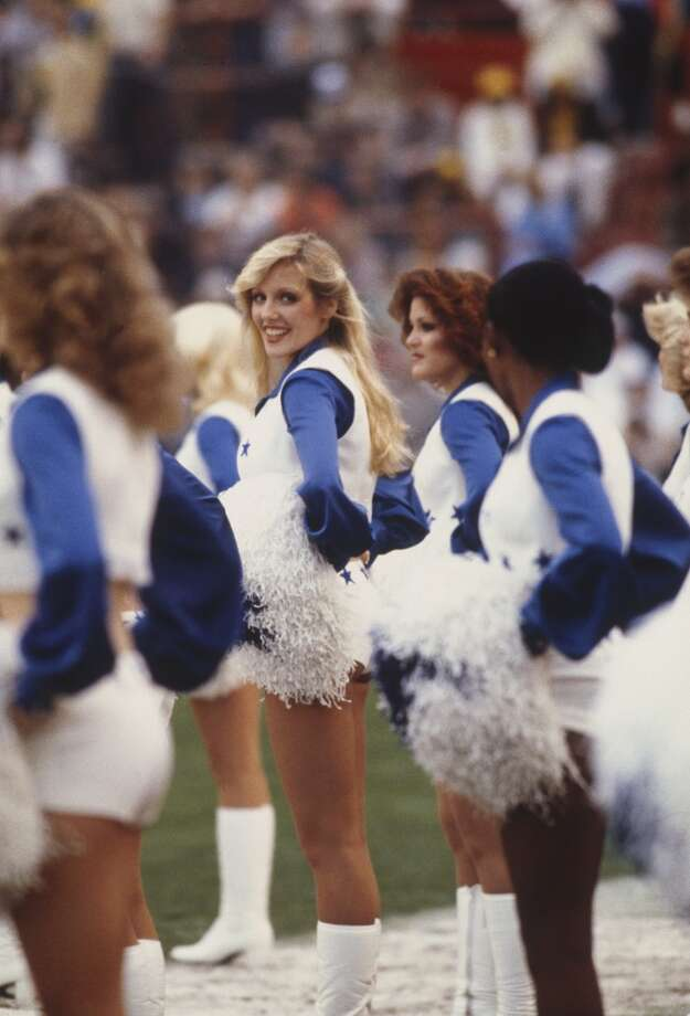 Dallas Cowboys cheerleaders in 1978. Photo: Focus On Sport, Focus On Sport/Getty Images