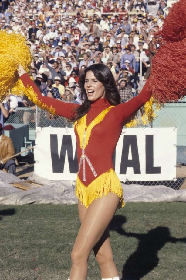 A Redskinette cheerleader in 1979 Photo: Diamond Images, Diamond Images/Getty Images