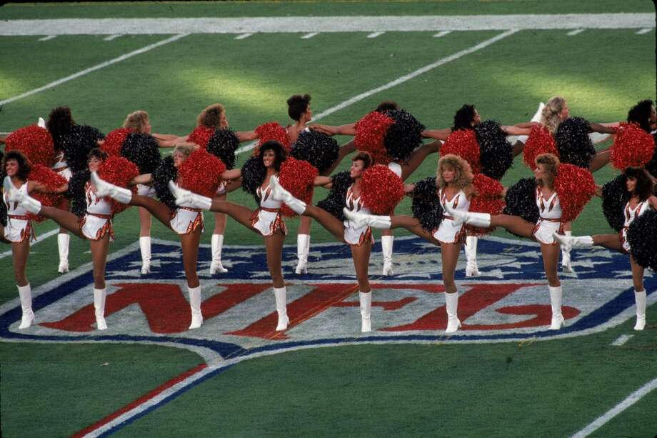 The Cincinnati Bengals cheerleaders in 1989 Photo: Gin Ellis, NFL