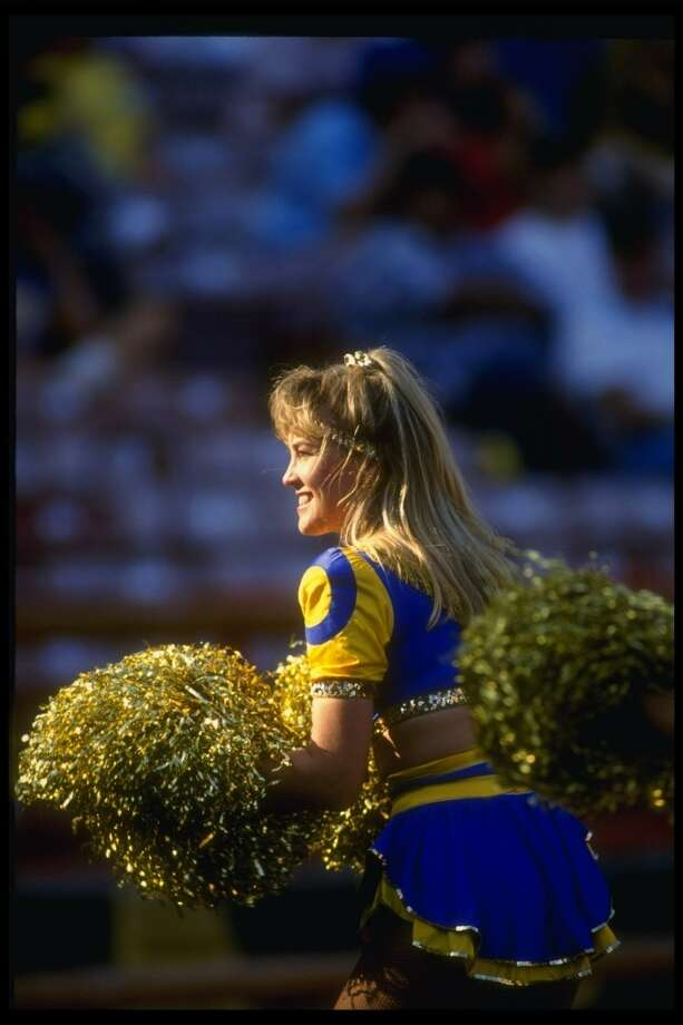 A Los Angeles Rams in 1990. Photo: Rick Stewart, Getty Images