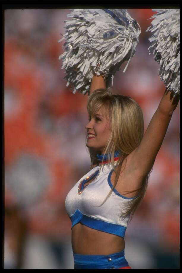 A Miami Dolphins cheerleader in 1992. Photo: Chris Cole, Getty Images