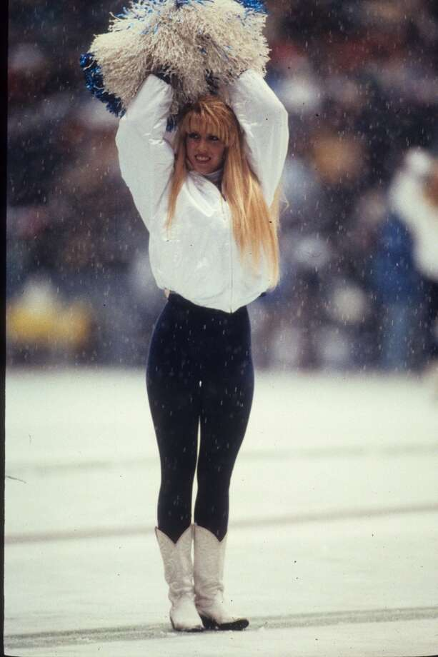 A Dallas Cowboys cheerleader in 1993. Photo: Joseph Patronite, NFL
