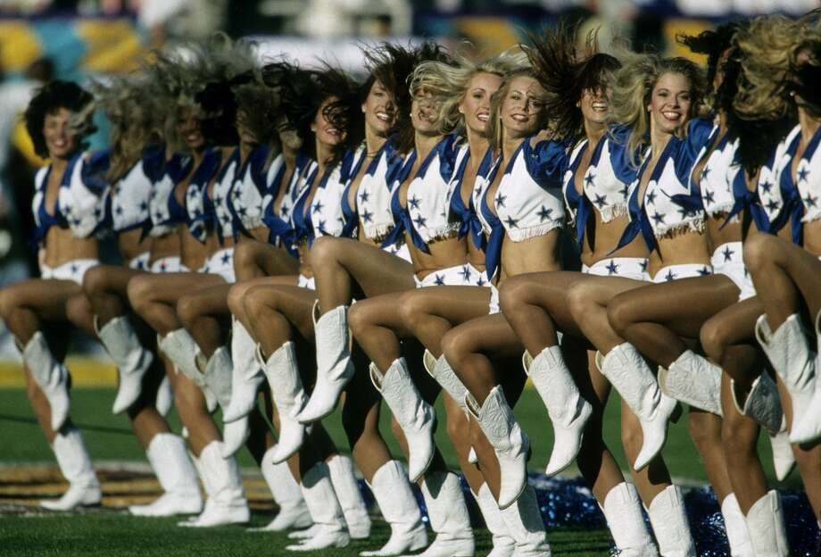 The Dallas Cowboys Cheerleaders in 1996. Photo: Joseph Patronite, NFL
