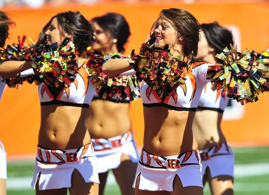 Cheerleaders for the Cincinnati Bengals Photo: Diamond Images, Diamond Images/Getty Images