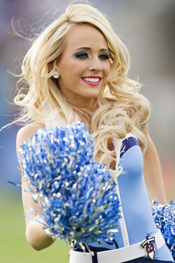 Cheerleaders of the Tennessee Titans in 2012. Photo: Wesley Hitt, Getty Images