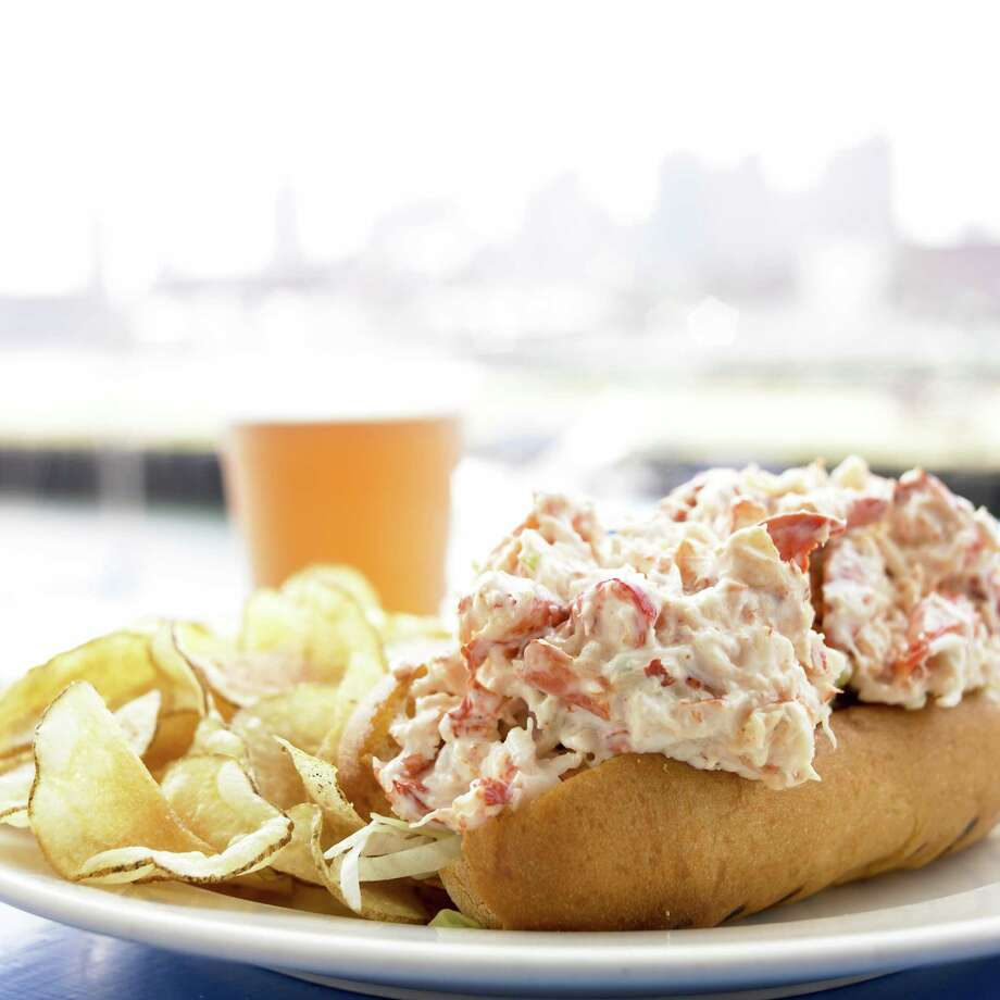 McDonald's lobster roll: Why anyone would go to Maine to eat McDonald's lobster is one of the great mysteries of our time. Pictured above, an actual, non-McDonald's, presumably delicious lobster roll. Photo: Heath Robbins / (c) Heath Robbins