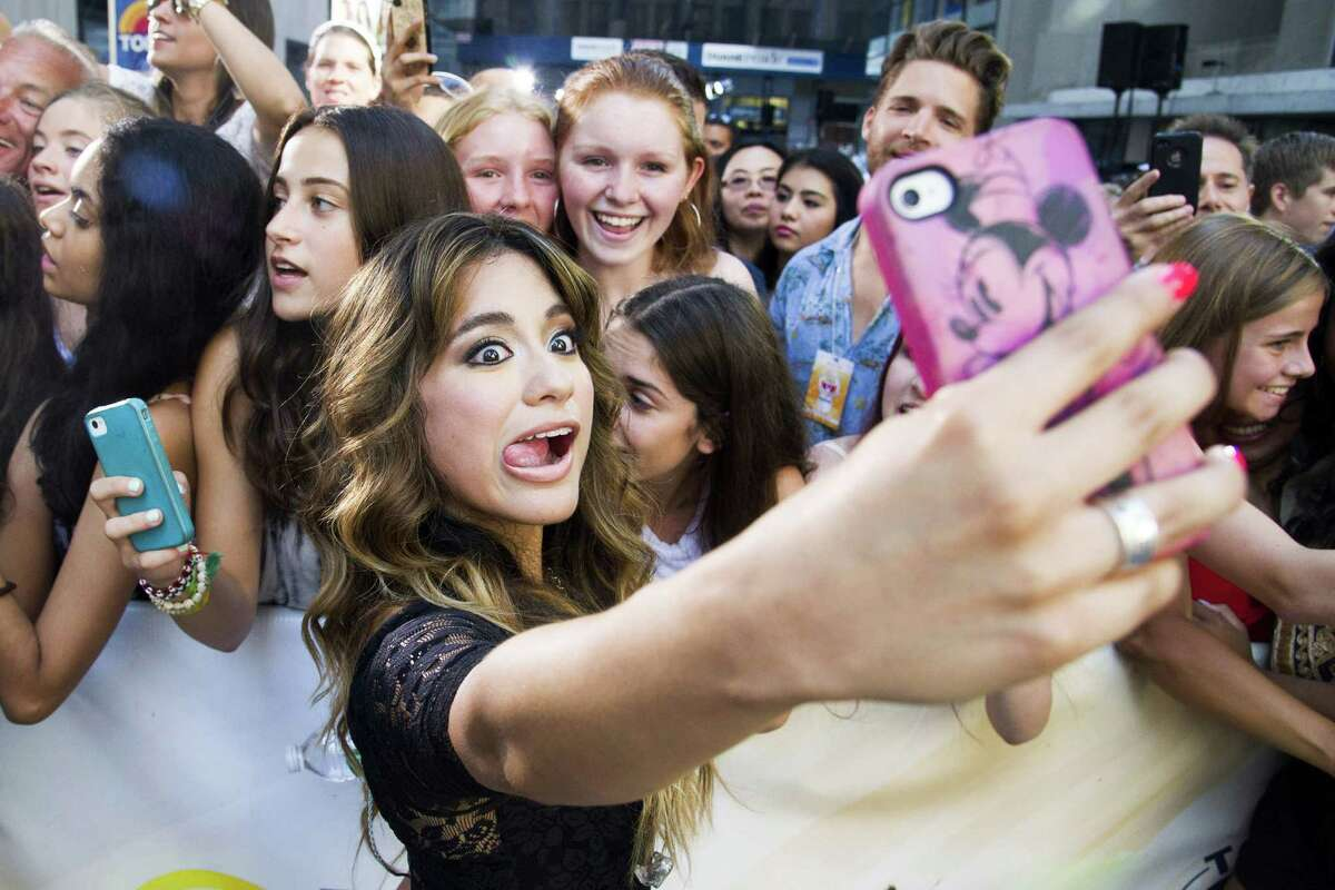 Brooke takes her photo with fans after performing on NBC's 'Today' show last month.
