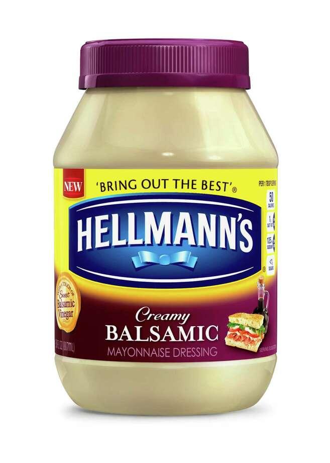 Hellmann's new Creamy Balsamic Mayonnaise Dressing Photo: Hellmann's