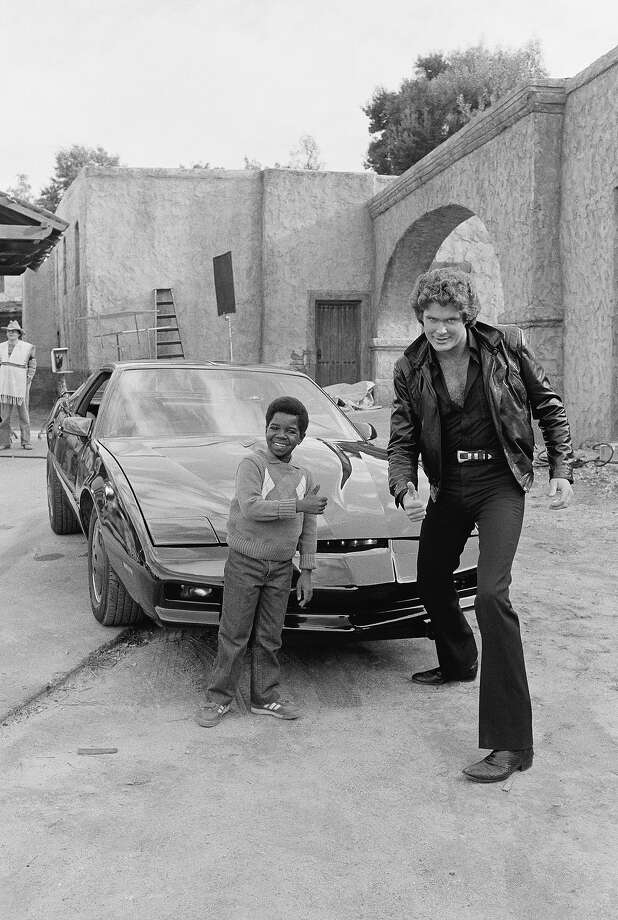 "Knight RiderOkay, this is actually from ""Diff'rent Strokes"" but watching David Hasselhoff as Michael Knight in ""Knight Rider"" is just an entirely ridiculous experience. Photo: NBC, NBC Via Getty Images / ? NBC Universal, Inc."