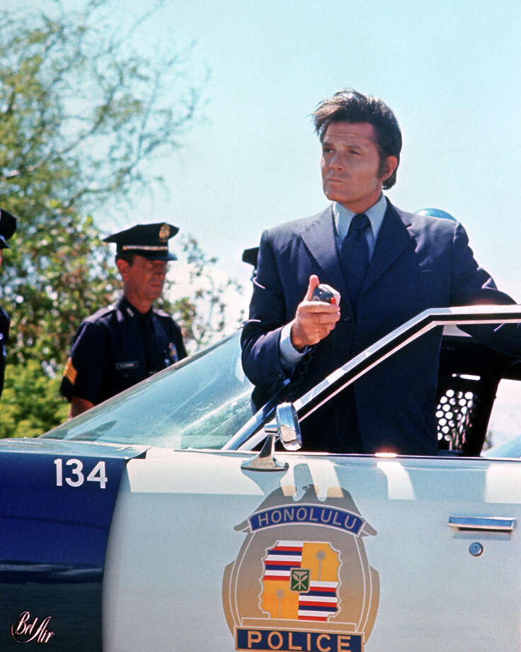 "Hawaii Five-0Jack Lord as Steve McGarrett in ""Hawaii Five-0"" is almost as stiff as Jack Webb in ""Dragnet."" Almost. Photo: Silver Screen Collection, Getty Images / Moviepix"