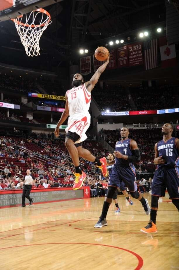 "Oct. 30 vs. Bobcats 7 p.m. TV: CSNFor openers: Nothing is a given in the NBA but the Rockets get a ""winnable"" start to the season as the Charlotte Bobcats, 21-61 last season, come to Toyota Center for the opener. Photo: Bill Baptist, NBAE Via Getty Images"
