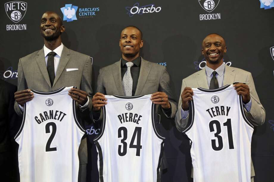 Nov. 29 vs. Nets 7 p.m. TV: CSN  Revamped Brooklyn brings former Celtics stars Kevin Garnett and Paul Pierce to town. Photo: Mary Altaffer, Associated Press
