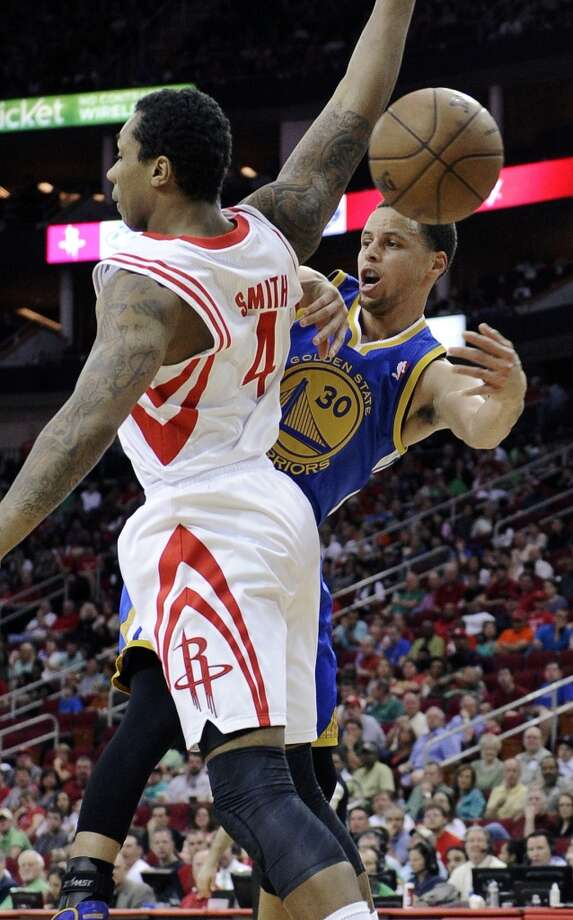 Dec. 6 vs. Warriors 7 p.m. TV: CSN  Led by Steph Curry, the Rockets' newfound rivals make their lone visit to town. Photo: Pat Sullivan, Associated Press