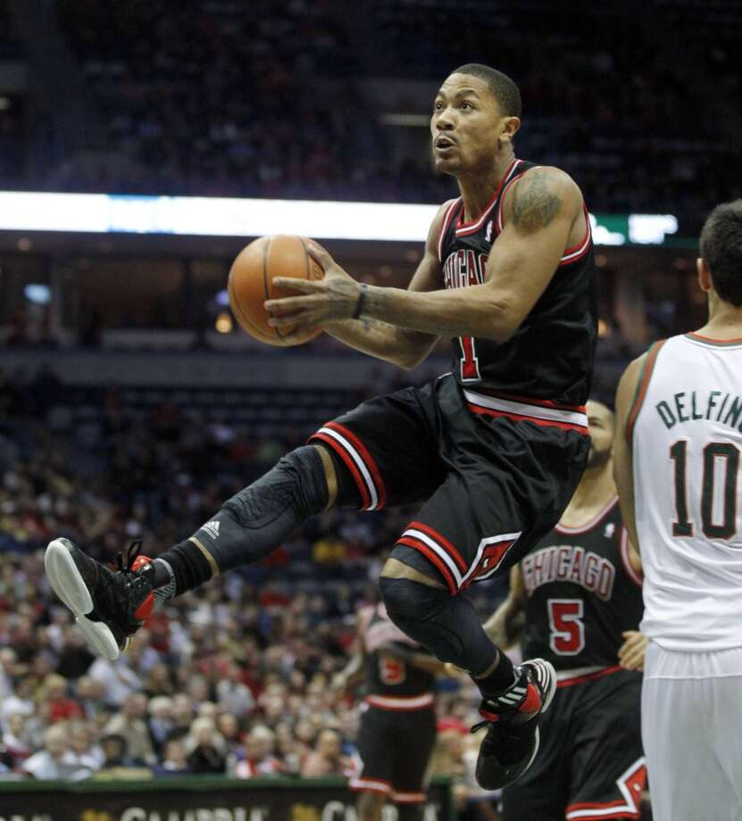 Dec. 18 vs. Bulls 8:30 p.m. TV: CSN/ESPN  Derrick Rose hasn't played at Toyota Center since his 2010-11 MVP campaign. Photo: Jeffrey Phelps, Associated Press