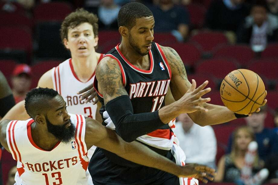 Jan. 20 vs. Trail Blazers 7 p.m. TV: CSN  The Rockets commemorate Martin Luther King Jr. Day with a home matchup with LaMarcus Aldridge and Portland. Photo: Smiley N. Pool, Chronicle
