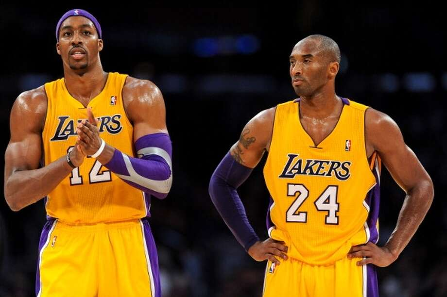 Feb. 19 at Lakers 9:30 p.m. TV: CSN/ESPNReunited, Part 2: Dwight Howard, left, makes his first trip to Los Angeles to play the Lakers in the Staples Center. Kobe Bryant should be fully recovered from his Achilles injury by then. Photo: Noah Graham, Getty Images
