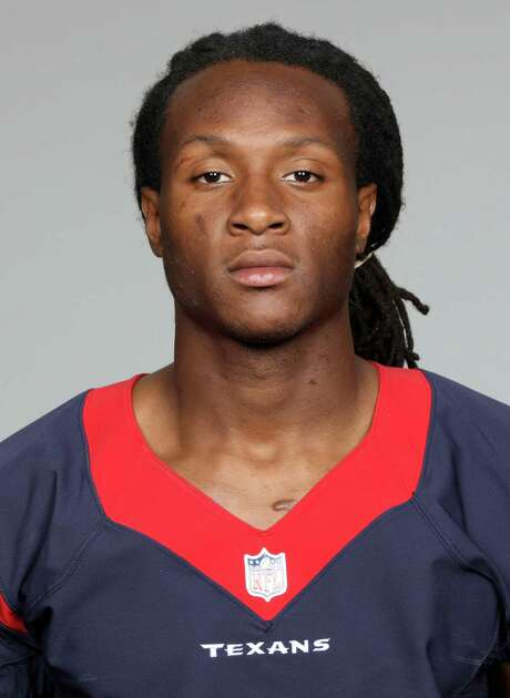 File-This is a 2013 photo of DeAndre Hopkins of the Houston Texans NFL football team.  The Texans signed first-round pick Hopkins on Monday, July 22, 2013, giving them seven of nine 2013 draft picks now under contract. (AP Photo/File) Photo: Uncredited, FRE / NFLPV AP