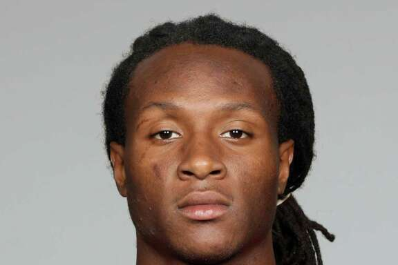 File-This is a 2013 photo of DeAndre Hopkins of the Houston Texans NFL football team.  The Texans signed first-round pick Hopkins on Monday, July 22, 2013, giving them seven of nine 2013 draft picks now under contract. (AP Photo/File)