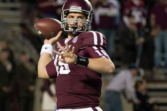 Matt Joeckel has game experience, but that may not give him an edge if a new quarterback race develops at A&M.