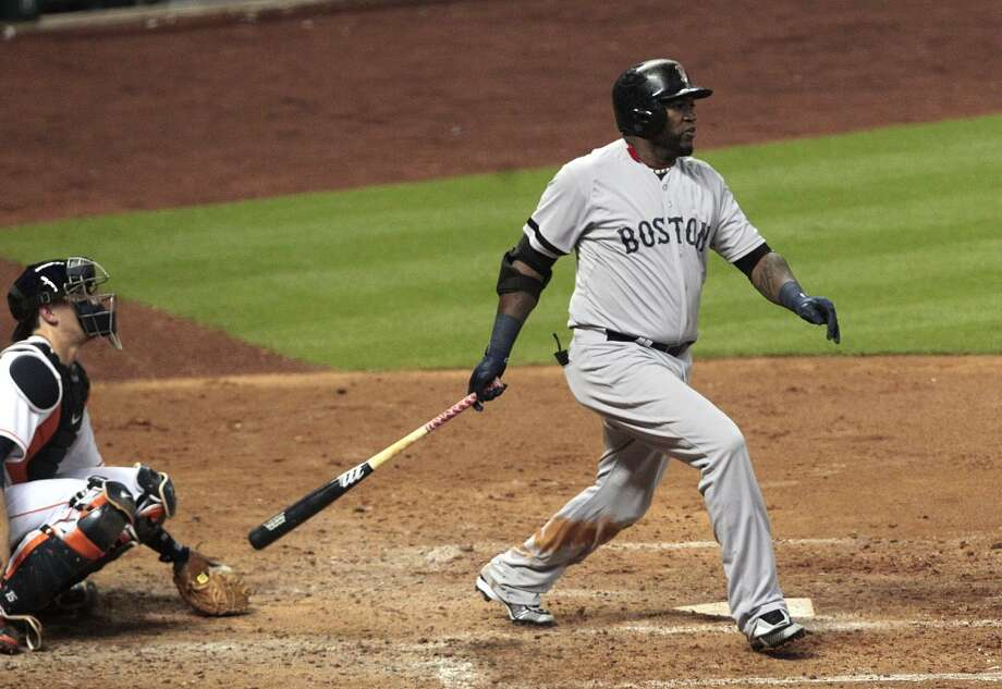 August 6: Red Sox 15, Astros 10David Ortiz of the Red Sox had two RBIs, two runs and four hits against the Astros. Photo: Billy Smith II, Houston Chronicle