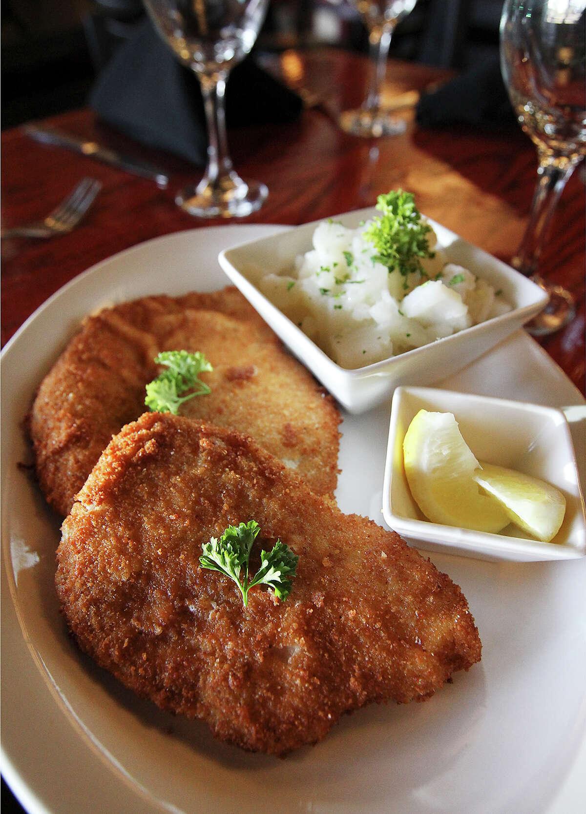 The Weiner Schnitzel from Speisen.