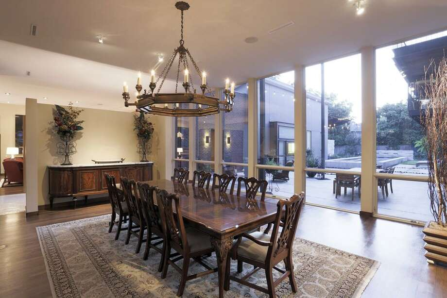 This Houston home features four bedrooms and four bathrooms in more than 5,600 square feet of living space. The asking price is $3 million.See the listing here.
