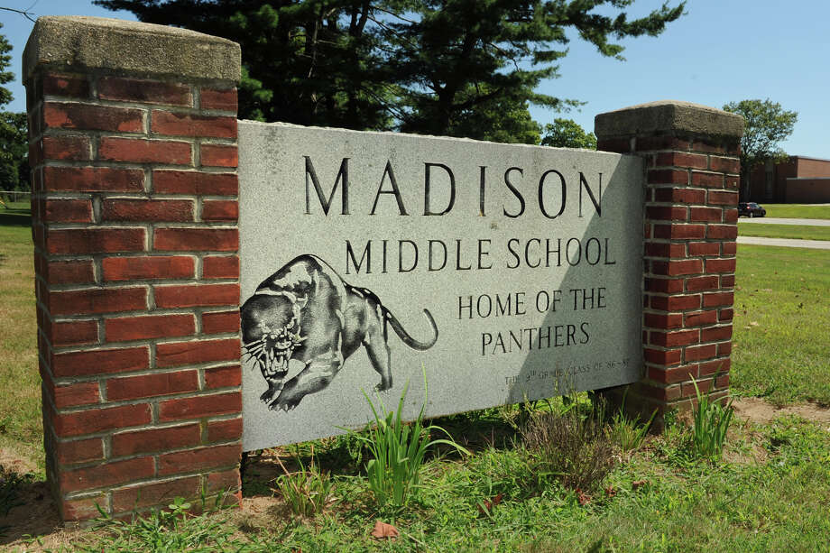 Madison Middle School, in Trumbull, Conn., Aug. 6th, 2013. Photo: Ned Gerard / Connecticut Post